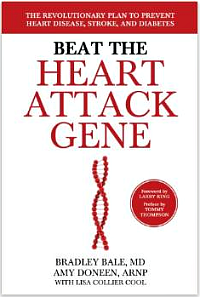 Beat the Heart Attack Gene book.